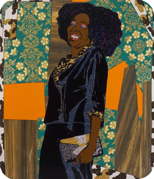 Mama Bush: (Your Love Keeps Lifting Me) Higher and Higher. Mickalene Thomas. 2009.