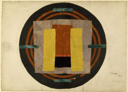 The Omega Workshops was a design enterprise founded by members of the Bloomsbury Group. The works produced were shown anonymously, marked only with the letter omega.