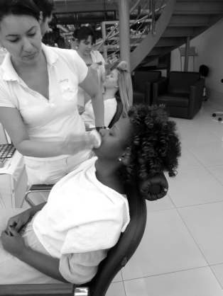 preparing the skin